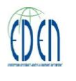חברות בקונסורציום (EDEN (European Distance and E-Learning Network